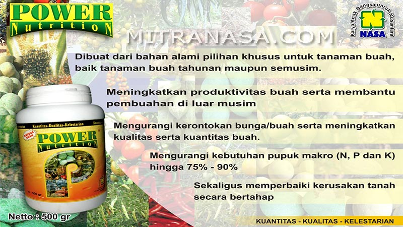 Brosur Power Nutrition Mitra NASA