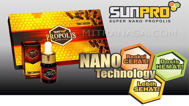 Brosur SUNPRO Nano Propolis NASA