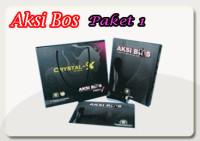 Aksi Bos Paket Crystal X