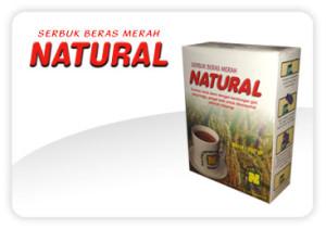 Serbuk Beras Merah Natural SBMN