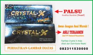 Crystal X Nasa Asli dan Palsu