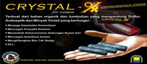 Natural Crystal X For Women nasa Natural Nusantara