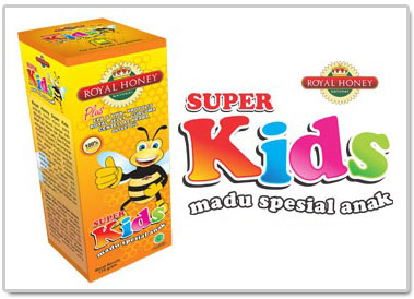 Natural Royal Honey Super Kids