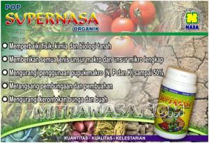 Produk Organik Padat POP Supernasa
