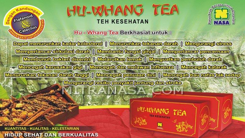 Brosur Hu Whang Tea Nasa