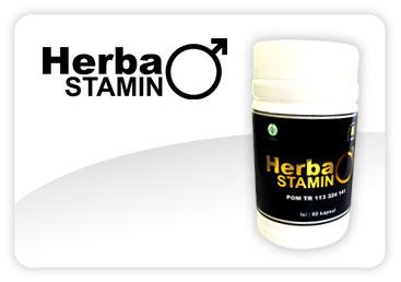 HERBASTAMIN Penambah Stamina & Vitalitas Pria