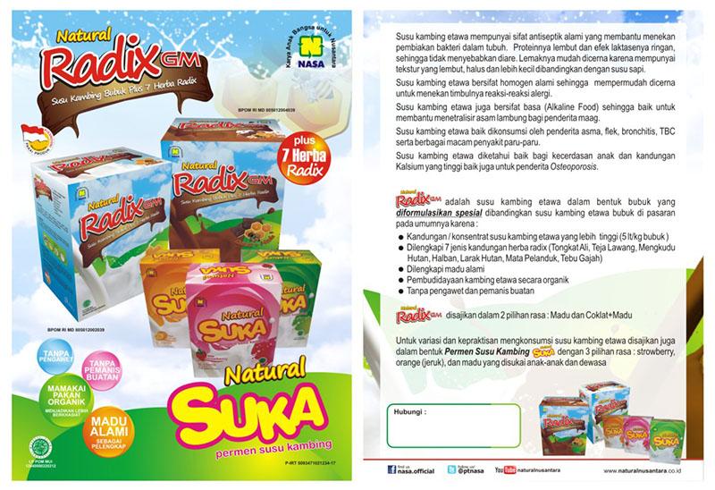 Natural Radix GM Serbuk Plus