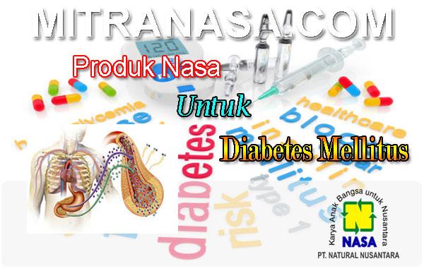 Paket Produk Nasa Untuk Diabetes Mellitus