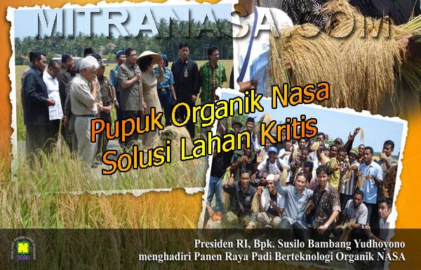 Pupuk Organik Nasa Untuk Kesuburan Tanah